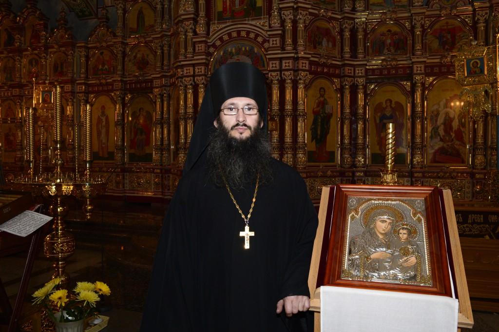 Иеромонах Петр (Красников), настоятель храма Воскресения Христова, благочинный Усинского церковного округа